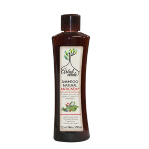 Shampoo Natural Anticaída Árbol Verde 500 ml.