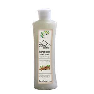 Shampoo Natural Hidratante Árbol Verde 500 ml.