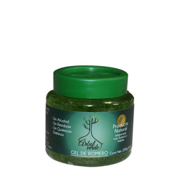 Gel de Romero Arbol Verde de 250 gramos
