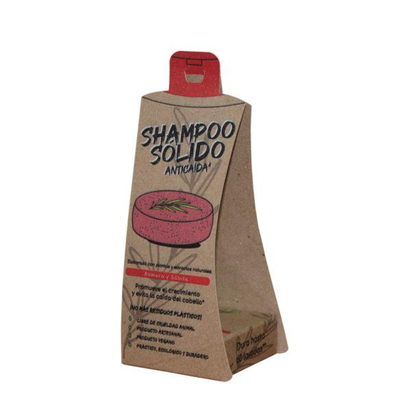Shampoo Sólido Anticaida Árbol Verde