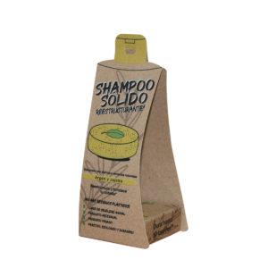 Shampoo Sólido Reestructurante Árbol Verde