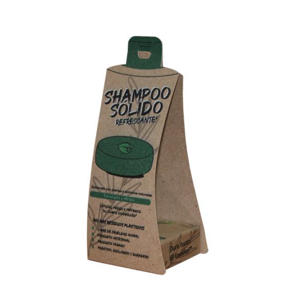 Shampoo Sólido Refrescante Árbol Verde