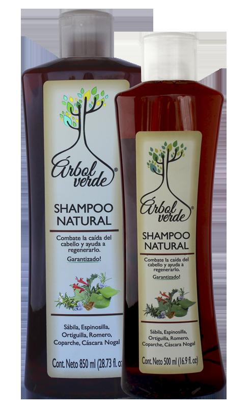Shampoo natural anticaída Árbol Verde